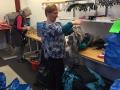 Tjek af tøjet